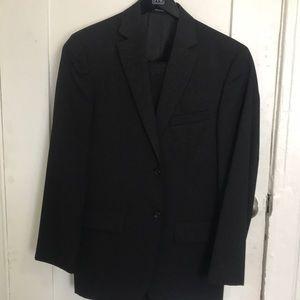 Full black suit. Men's wear house. Pronto Uomo